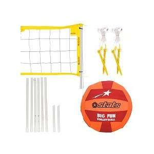 Stats Big Fun VolleyBall Set Toys & Games