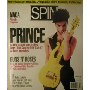 Spin Magazine September 1991 Prince (Single Back Issue) Spin Books
