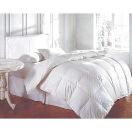Bedding Twin White Feather Down Bed Comforter 39 Oz