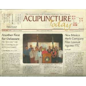 ACUPUNCTURE TODAY, THE ACUPUNCTURE AND ORIENTAL MEDECINE NEWS SOURCE