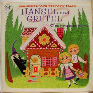 CHILDRENS FAVORITE FAIRY TALES hansel & gretel LP VG