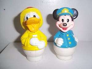 Fisher Price Disney Little People ~ Mickey Mouse & Donald Duck