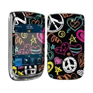 Smart Touch Peace Love Design Vinyl Decal Protector Skin