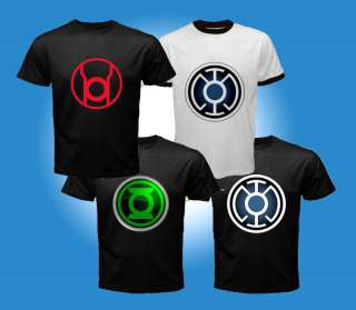 Green Lantern Corps Comics Movie 2011 T Shirt Men