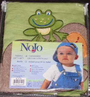 NOJO JUNGLE BABIES WINDOW VALANCE TIGER MONKEY