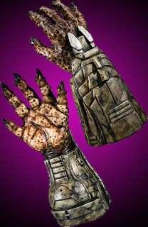 Deluxe Movie Predator Hands Halloween Mask Costume Prop