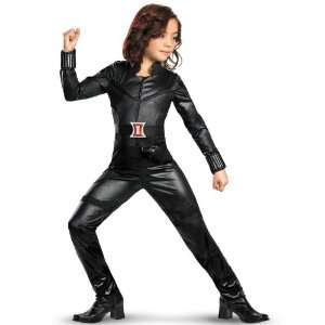 Lets Party By Disguise The Avengers Black Widow Deluxe Child Costume