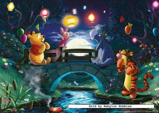 picture of Ravensburger 1000 pieces jigsaw puzzle Disney   Winnie the