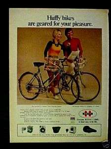 1973 Huffy Olympia~Tourister Bicycle~Bike Photo Print Ad