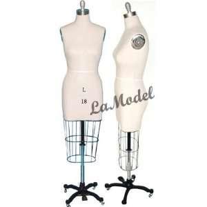 Half Body Female Dress Form Size 18 mannequins Office