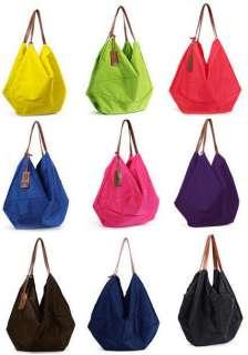 Market Large Big Shoulder Purse Travel Handbag Bag 9 Colors