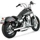 Vance and Hines Big Radius Exhaust Black For 06 11 Dyna Models New
