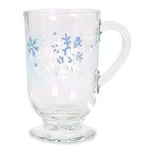 Libbey Misty Snowflakes Irish Coffee Mug Home & Kitchen