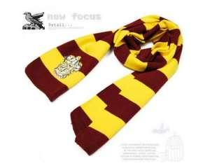 Harry Potter Scarf Costume Accessory 4 Colour Set