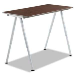 New   OfficeWorks Teaming Table Top, 48w x 24d, Walnut by