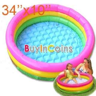 New Inflatable Swim Rings Baby Kids Toddler Seats Garden Swimming