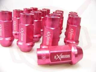 EXEDIUM LUG NUTS 12x1.5 ROSE PINK HONDA ACURA 20p