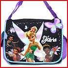 Disney TinkerBell Duffle Bag Diaper Gym Travel Bag  Pink Black items