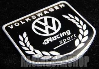 VOLKSWAGEN RACING SPORT high quality aluminium emblem