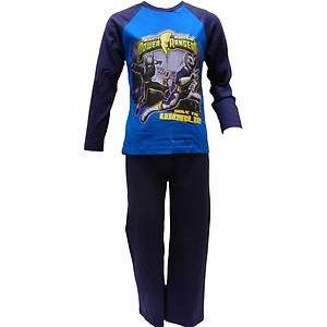 New Boys Official Power Rangers Pyjamas Blue 3 10 Years