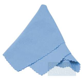 3PC MICROFIBER CLEANING CLOTH FOR CAMERA LENS SKY BLUE