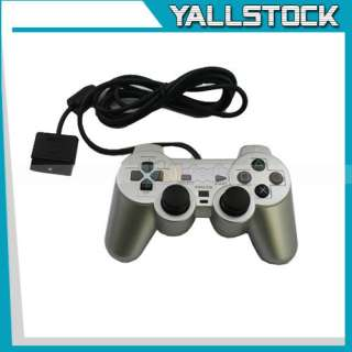 NEW Wireless Bluetooth CONTROLLER FOR SONY PS2 PS 2 Silver