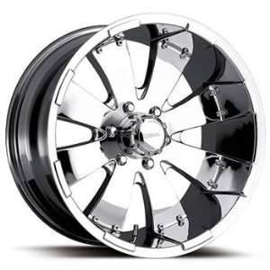 Ultra Mako 18x8.5 Chrome Wheel / Rim 8x180 with a 35mm Offset and a