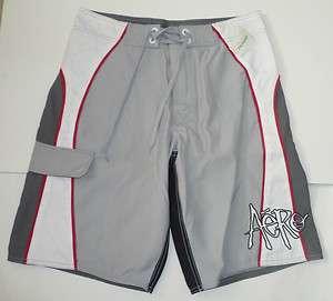 AEROPOSTALE Eclipse Gray Board Shorts Boardshorts Trunks NWT
