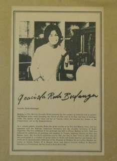 Original Graciela Rodo Boulanger Signed & Numbered Lithograph Vol