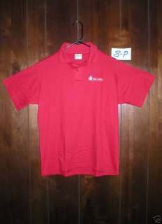 NWOT KING LOUIE Bowling Polo Shirt Mens Medium Red