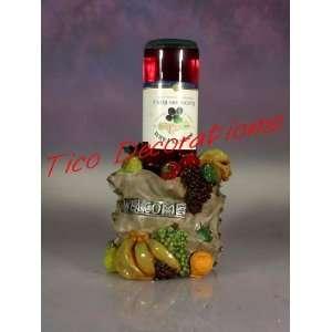 TUSCANY FRUIT WINE BOTTLE HOLDER GRAPE #2086