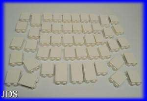 LEGO WHITE CASTLE BRICKS WALL STUDS BULK LOT NICE ITEMS
