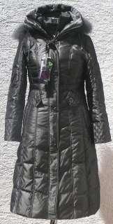 NWT Womens Winter Long Down Coat(SN1195),Silver Grey