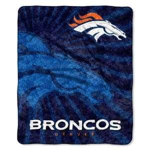 Denver Broncos NFL Super Soft Sherpa Blanket