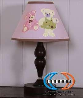 Lamp Shade for Baby Girl Teddy Bear Bedding Set GEENNY