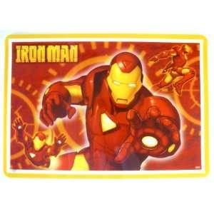 Man Placemat   XMEN Iron Man Placemat   Marvel Placemat Toys & Games
