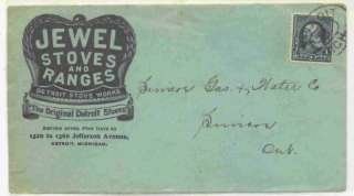 Jewel Stoves & Ranges Detroit Stove Works Advertising C