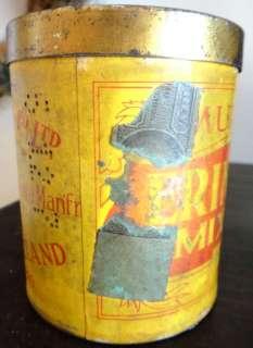 antique MURRAYS ERINMORE tobacco TIN MIXTURE embossed