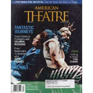American Theatre Magazine March 2003: Jim OQuinn: Books