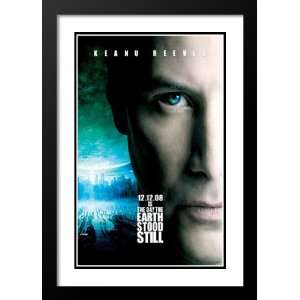 The Day the Earth Stood Still 20x26 Framed and Double Matted Movie