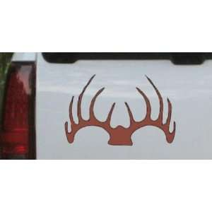 Deer horns Hunting And Fishing Car Window Wall Laptop Decal Sticker