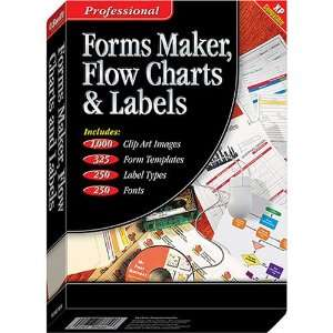 Forms Maker, Flow Charts and Labels: Software