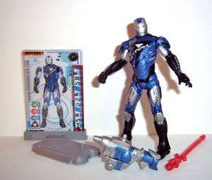 Marvel Universe IRON MAN stark racing armor #40 movie 2