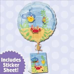 Baby Sea Critters   18 Baby Shower Balloon: Toys & Games