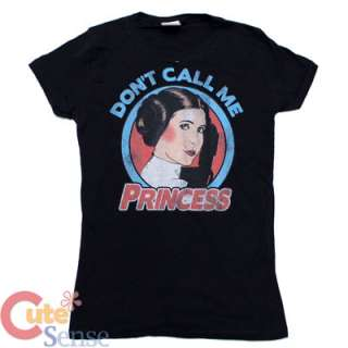 Star Wars Princess Leia Girls Women T Shirt Dont Call Me Princess