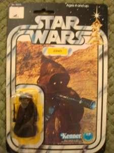 VINTAGE 1977 STAR WARS JAWA 12 BACK C MOC