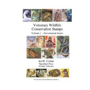 Conservation Stamps, Vol 1 Government Issues; Center stapled Books