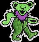 15313 Grateful Dead Dancing Jerry Bears Sticker Decal