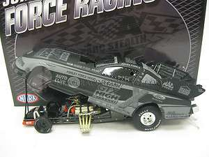 JOHN FORCE CASTROL GTX 124 Action Stealth Funny Car NHRA 1/841