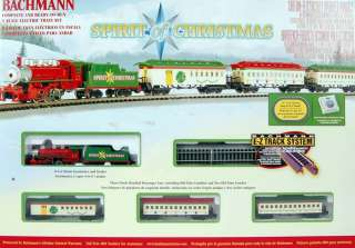 Bachmann N Scale Train Set Analog Spirit of Christmas 24017